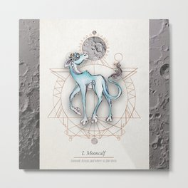 Mooncalf Metal Print