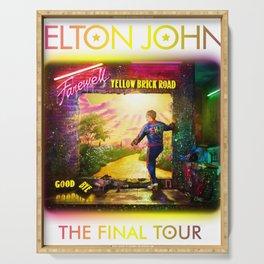 ELTON - FAREWELL YELLOW BRICK ROAD TOUR 2020 AUS,US Serving Tray