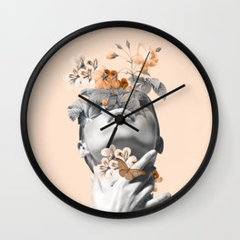 Inner beauty 4 Wall Clock