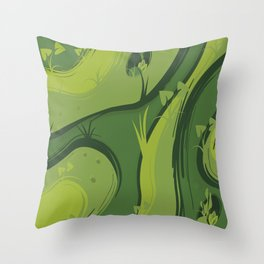 Jungle Throw Pillow
