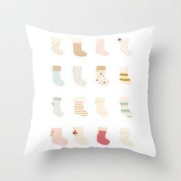 Stockings 2 Throw Pillow