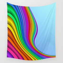 fluid -14- Wall Tapestry