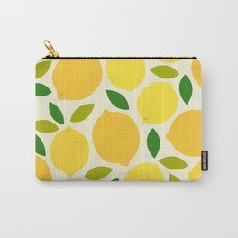 Lemon Carry-All Pouch