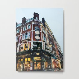The White Lion in Covent Garden Metal Print