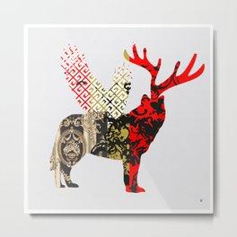 FabCreature · Steppenwolf Metal Print