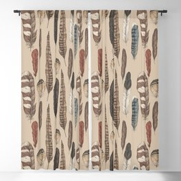 Feathers Blackout Curtain
