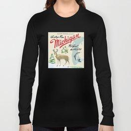 Greetings from Michigan Long Sleeve T-shirt