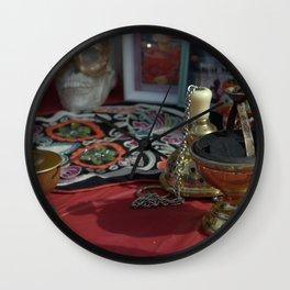 Incense Wall Clock
