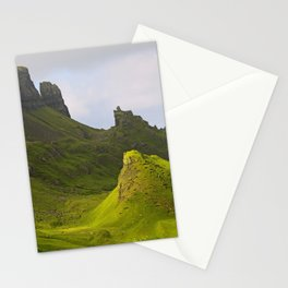 impressions of scotland - quiraing II Stationery Cards
