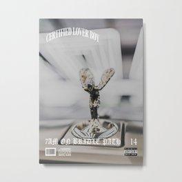 Drake Certified Lover Boy 7AM On Bridle Path Metal Print