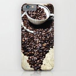 coffee art iPhone Case