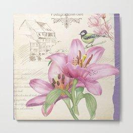 Macro Flower #14 Metal Print