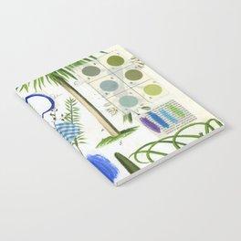 Botanical Series: Blue Notebook
