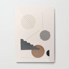 Geometric Modern Art 34 Metal Print