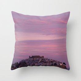 Peñíscola, Spain Throw Pillow