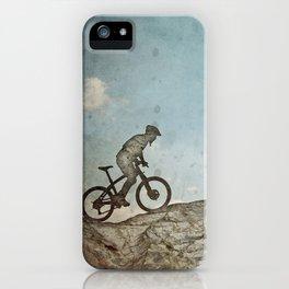 Mountain Biking iPhone Case