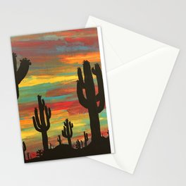 dark thoughts Stationery Cards