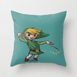 Toon Link Throw Pillow