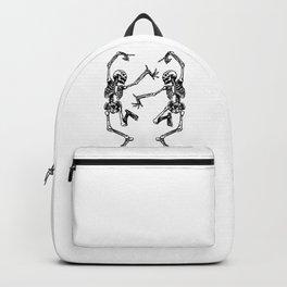 Duo Dancing Skeleton Backpack