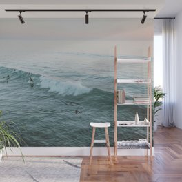 lets surf v Wall Mural