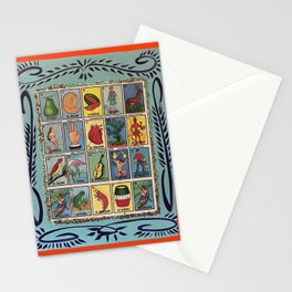 Mexican Bingo Loteria Stationery Cards