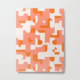 Puzzle Tiles #society6 #pattern Metal Print
