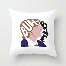 Buh-Bye - Saturday Night Live - David Spade Throw Pillow
