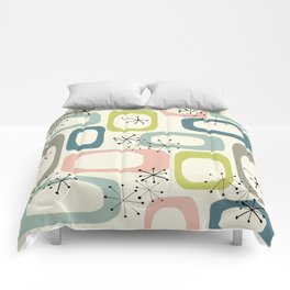Mid Century Modern Shapes #society6 #buyart Comforters
