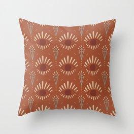 BOHEMIAN PATTERN VINTAGE Throw Pillow