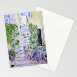 House spring Stationery Cards