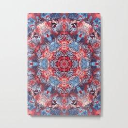 magic mandala 49 #mandala #magic #decor Metal Print