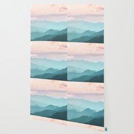 Smoky Mountain National Park Sunset Layers II - Nature Photography Wallpaper