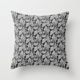Autumn Leaves Pattern 2 Throw Pillow