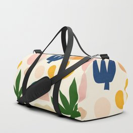 Abstraction_Floral_001 Duffle Bag