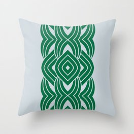 G-Forest River Throw Pillow