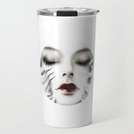 White tiger백호 Travel Mug