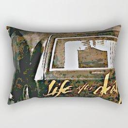 Life after Death album Rectangular Pillow
