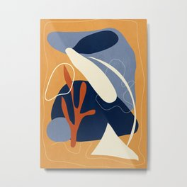 Abstract Shapes 30 Metal Print