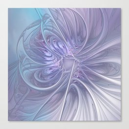 elegant flames on texture Canvas Print