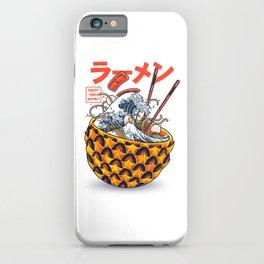 Great vibes ramen iPhone Case