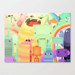 Who the What Canvas Print