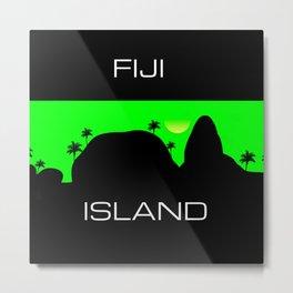 Fiji Island Metal Print