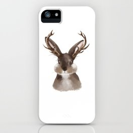 Wild Jackalope iPhone Case
