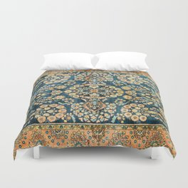 Sarouk  Antique West Persian Rug Print Duvet Cover