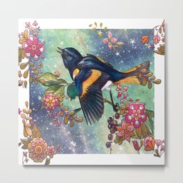 Baltimore Oriole Bird Metal Print