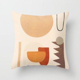 Modern Art I Throw Pillow