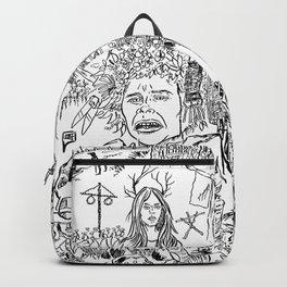 Folk Horror - B&W Backpack