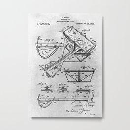 Aeroplane kite Metal Print