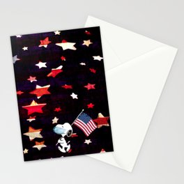Patriotic Pup Stationery Cards