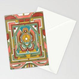 Butterfly Express - Art Nouveau Design Stationery Cards